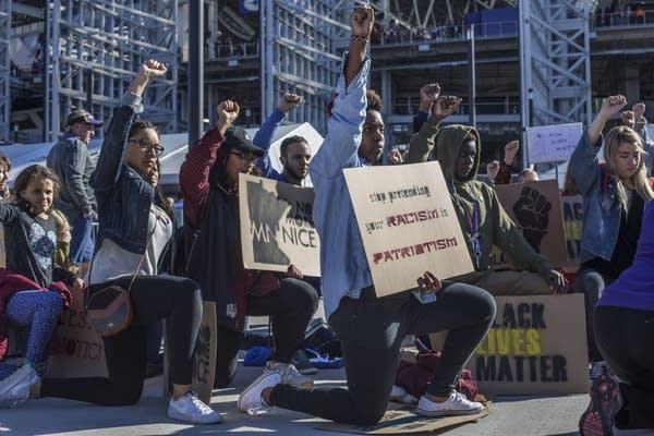 Black Lives Matter held a