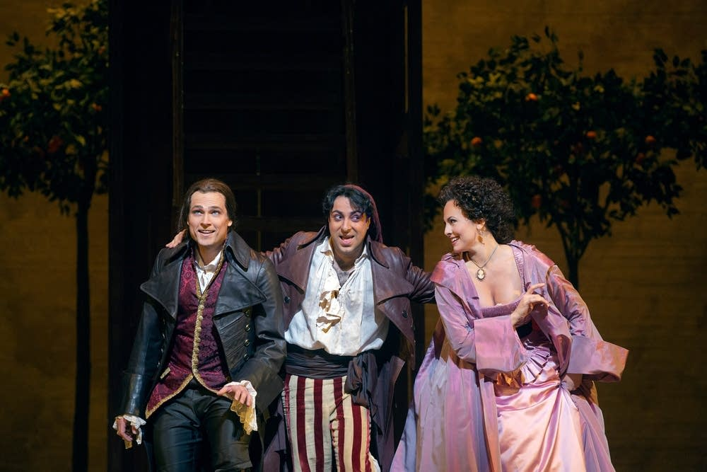 A scene from The Barber of Seville