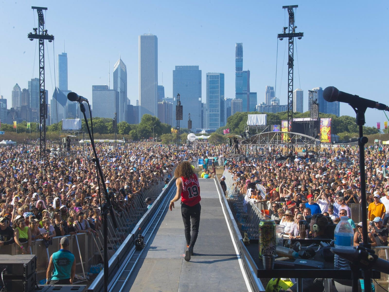 David Shaw of The Revivalists performs on day four of Lollapalooza 2019
