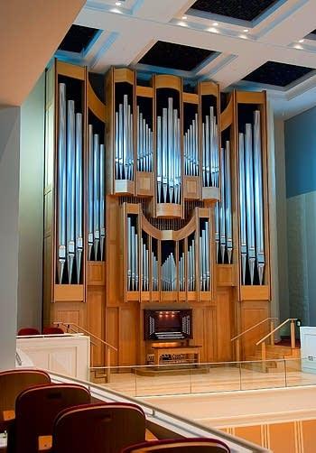 Maidee H. and Jackson A. Seward Organ [2008 C.B. Fisk] at Auer Hall,...