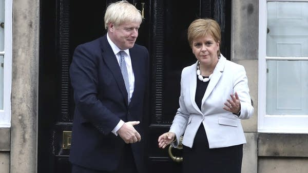 Scotland's First Minister and Britain's Prime Minister