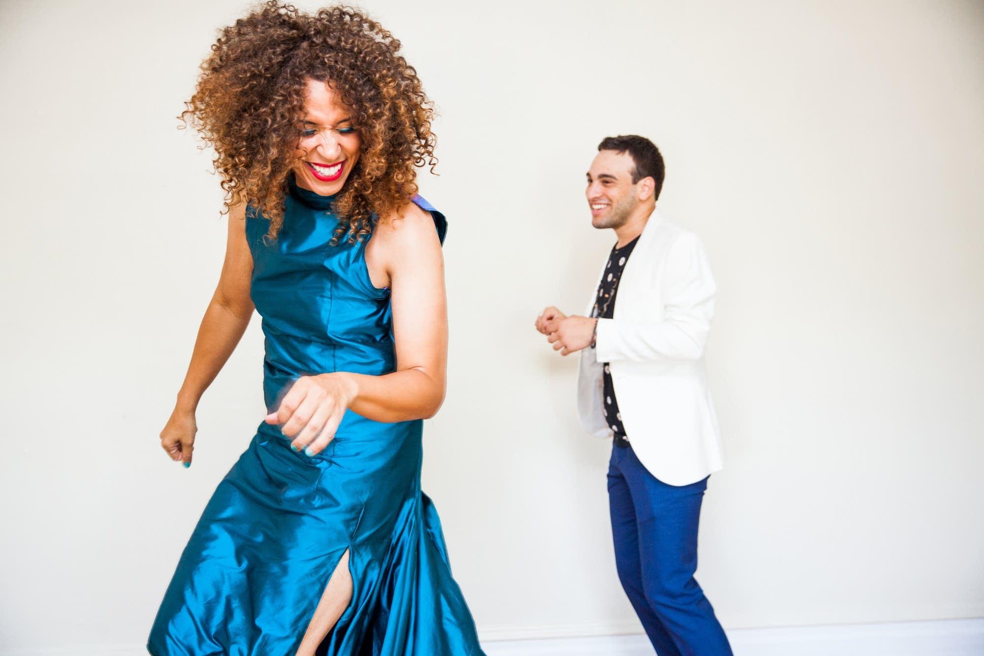 Jomama Jones and bandmate Samora Pinderhughes