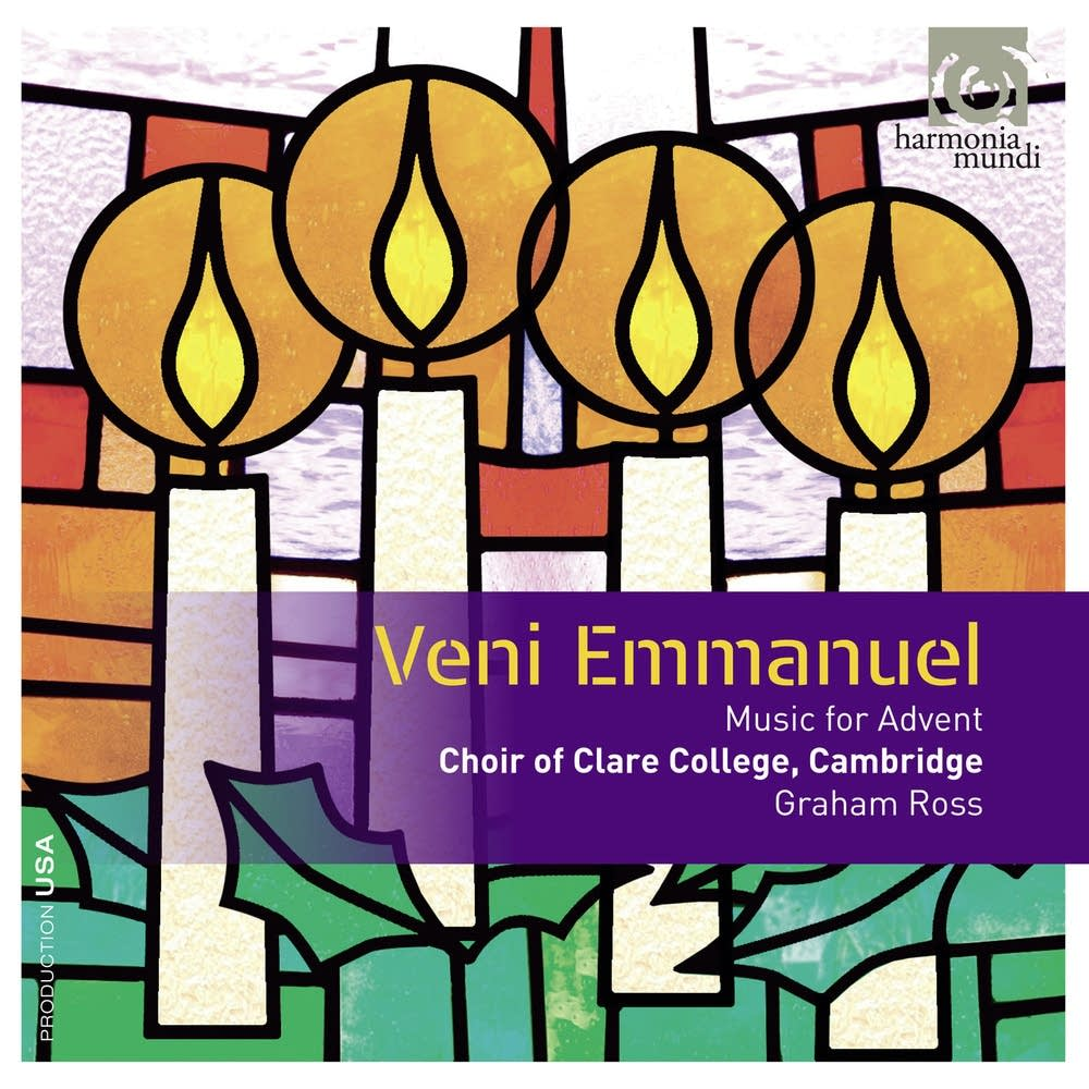 veni emmanuel, clare college choir, cambridge