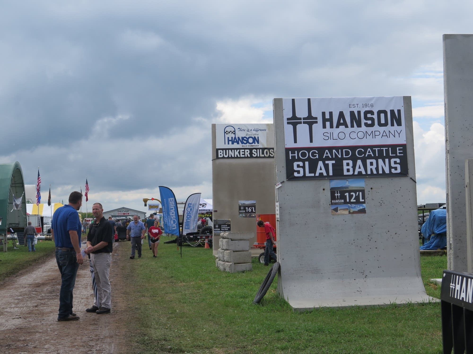 Farmfest show in southwest Minnesota.