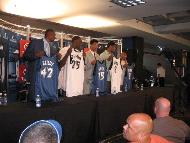 New T-Wolves