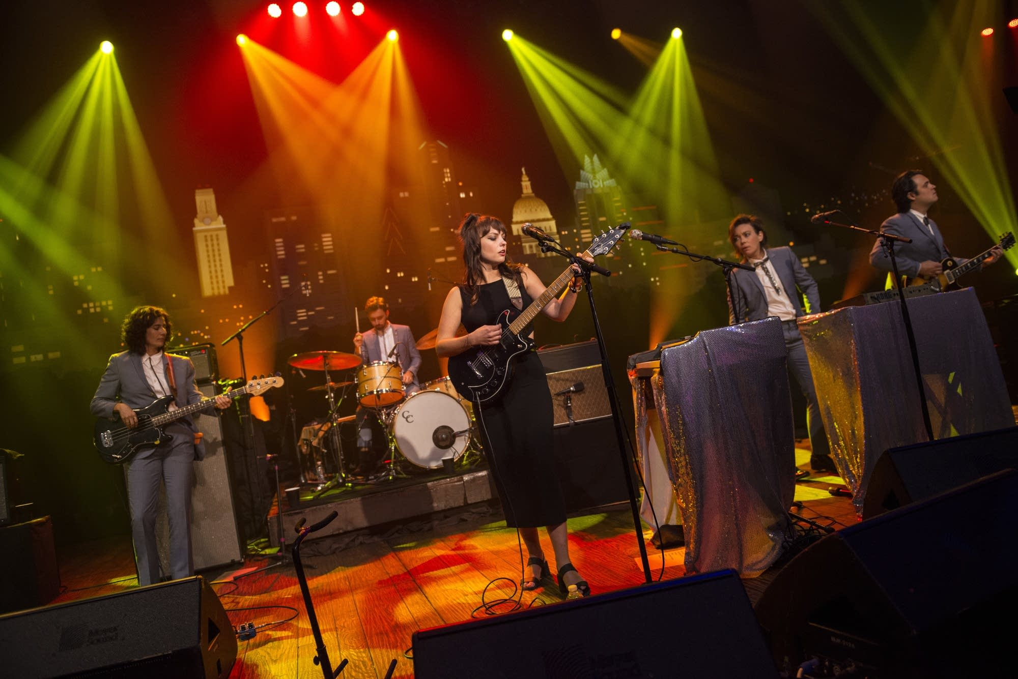 Angel Olsen performs on 'Austin City Limits'