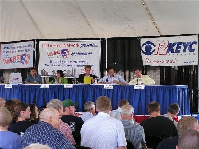 Farmfest's U.S. Senate forum