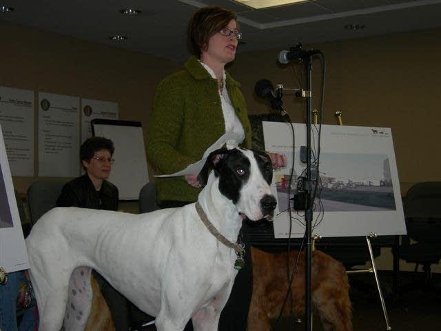 Janelle Dixon of the Animal Humane Society