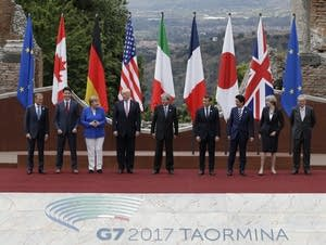 Leaders of the G7.