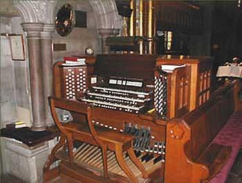 1935 Aeolian-Skinner organ at Trinity Church on the Green, New Haven,...