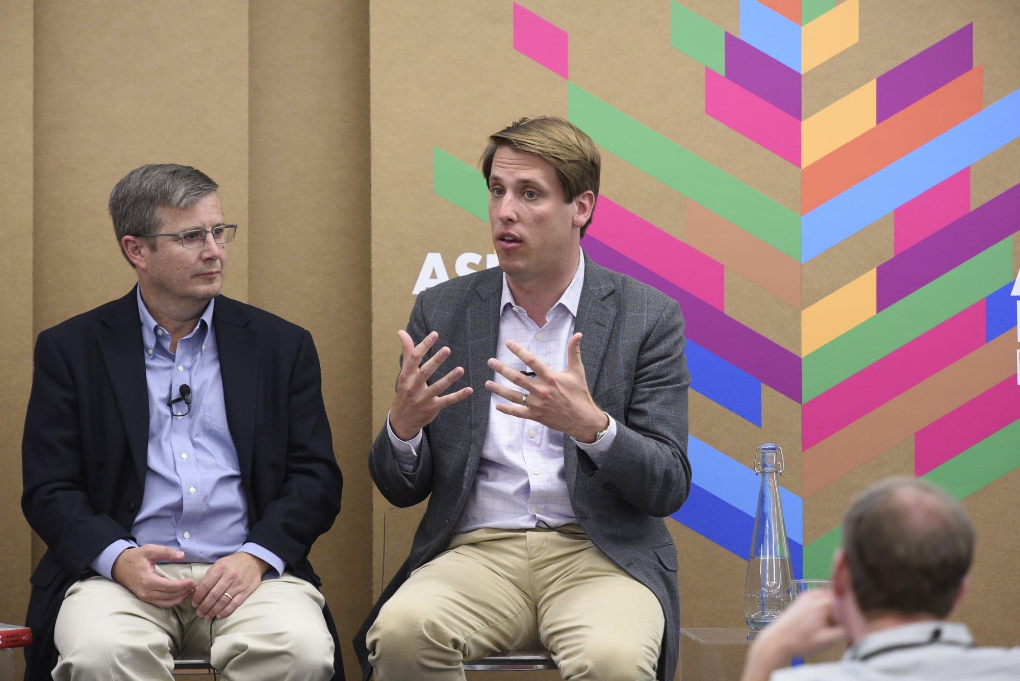 Peter Feaver and Garrett Graff at the Aspen Ideas Festival.