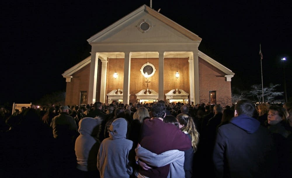Vigil for school shooting