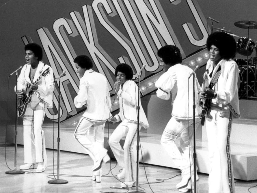 The Jackson 5 from their 1972 television special.