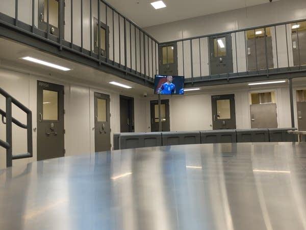Clay County Correctional facility cell block