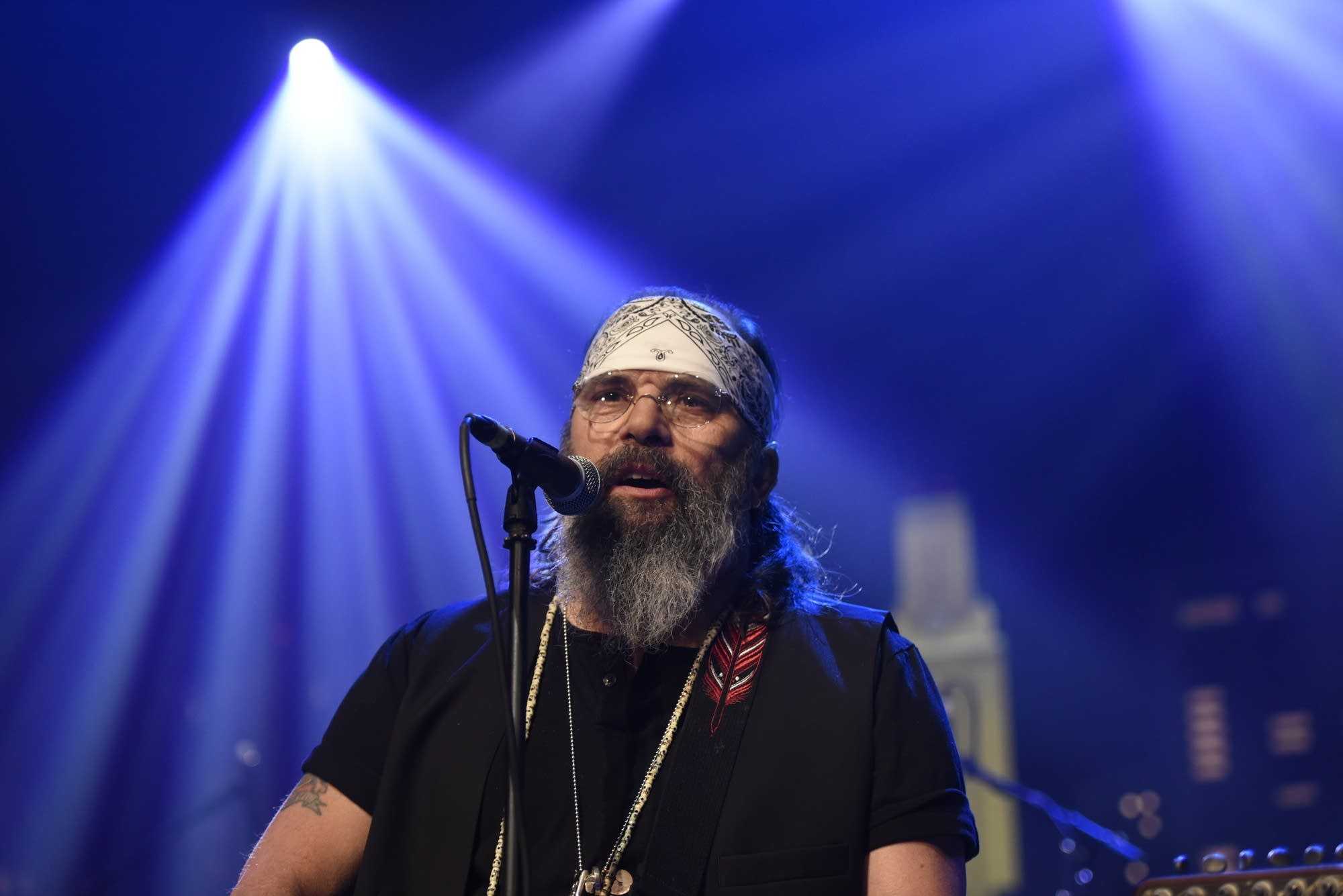 Steve Earle performing on 'Austin City Limits' on PBS