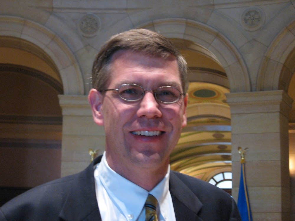 Republican candidate Erik Paulsen at the capitol