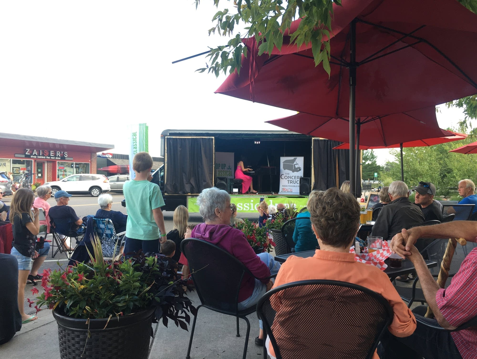 Pop Up Classical: The Concert Truck 2017 - Nisswa