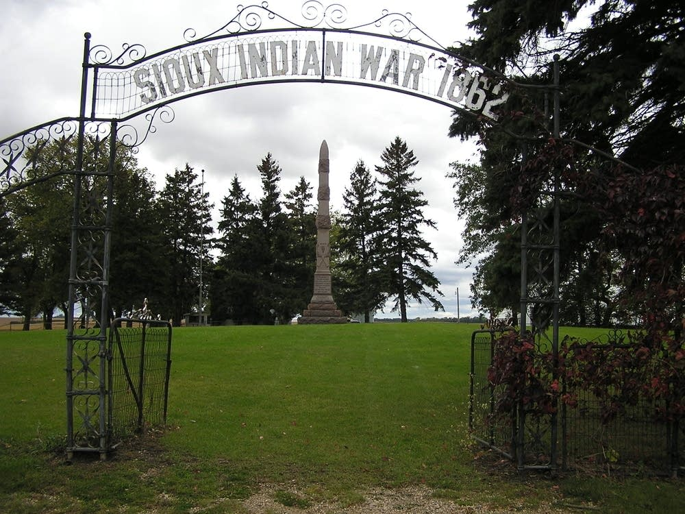 Wood Lake battle monument