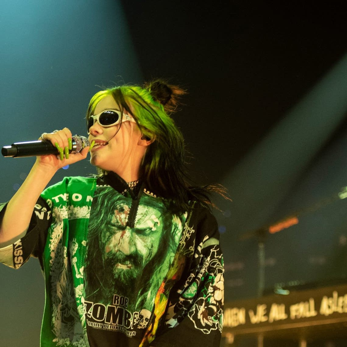 Billie Eilish performing on 'Austin City Limits' on PBS - web crop