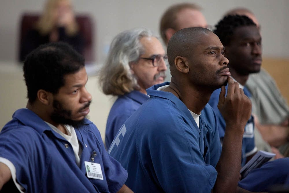 Inmates watch 'Measure for Measure'