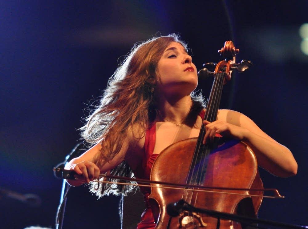 Cellist Alisa Weilerstein in concert