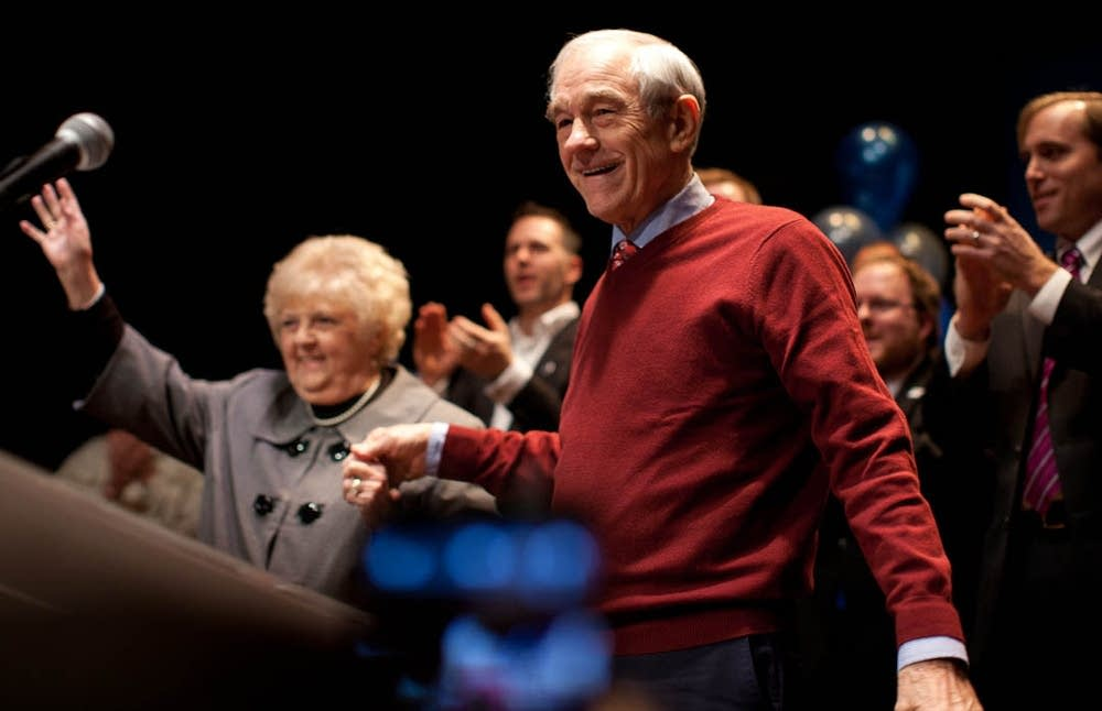 Ron Paul visits Minn.