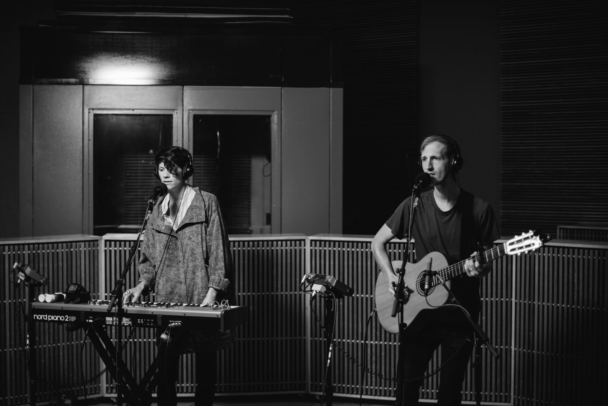 Lowland Hum perform in the Radio Heartland studio