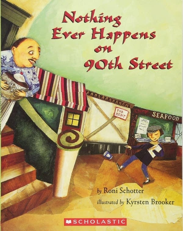 Julie's Library: Nothing Ever Happens On 90th Street by Roni Schotter