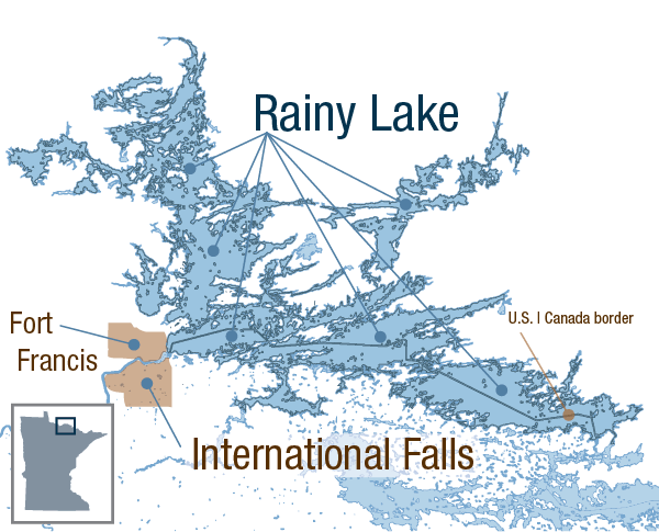 From Septics To Sewers On Rainy Lake S South Shore