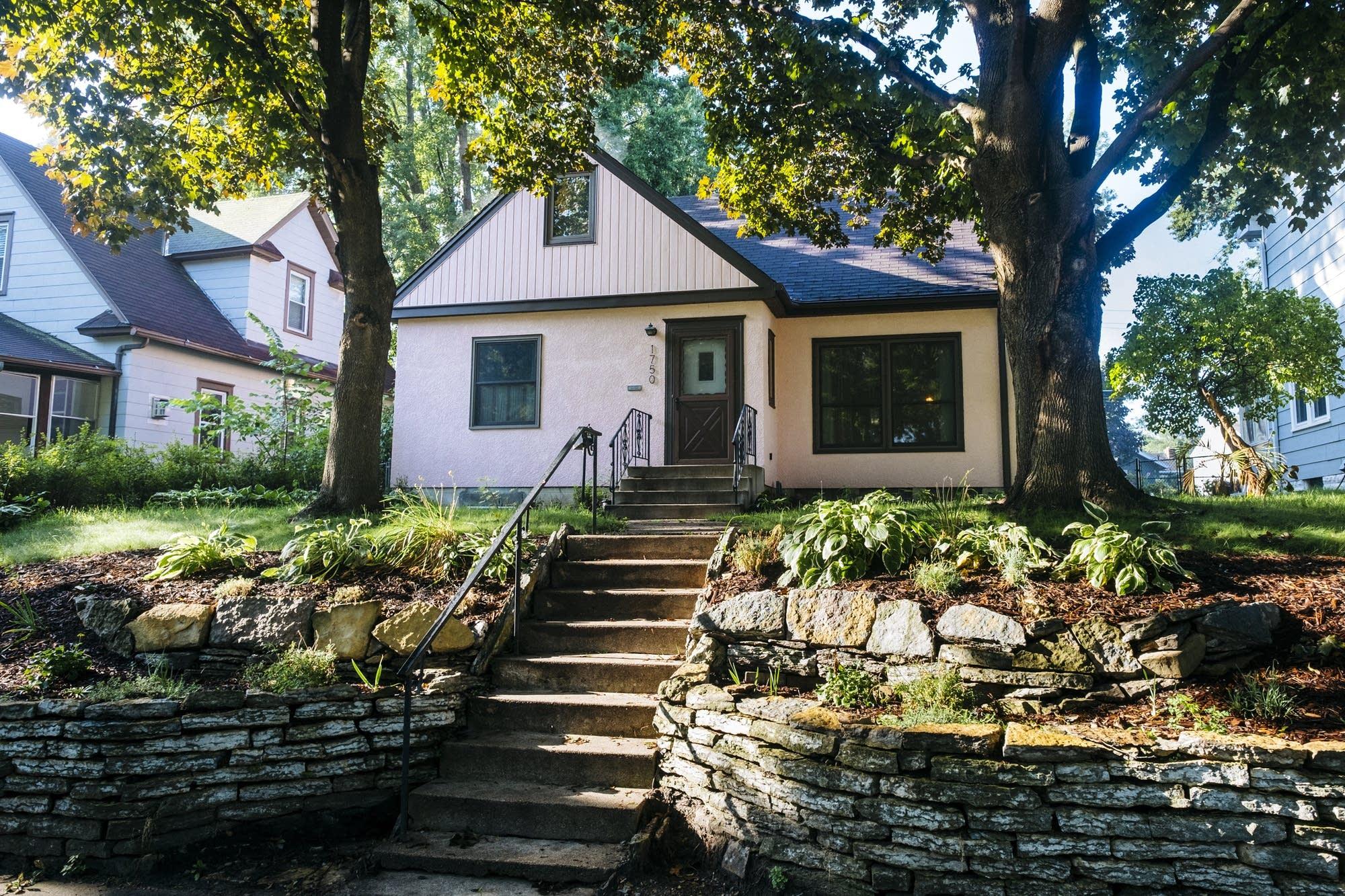 Elijah Neumann's St. Paul home.