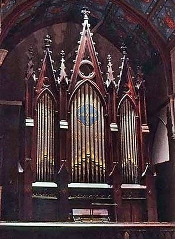 1866 Hook organ at South Parish Congregational