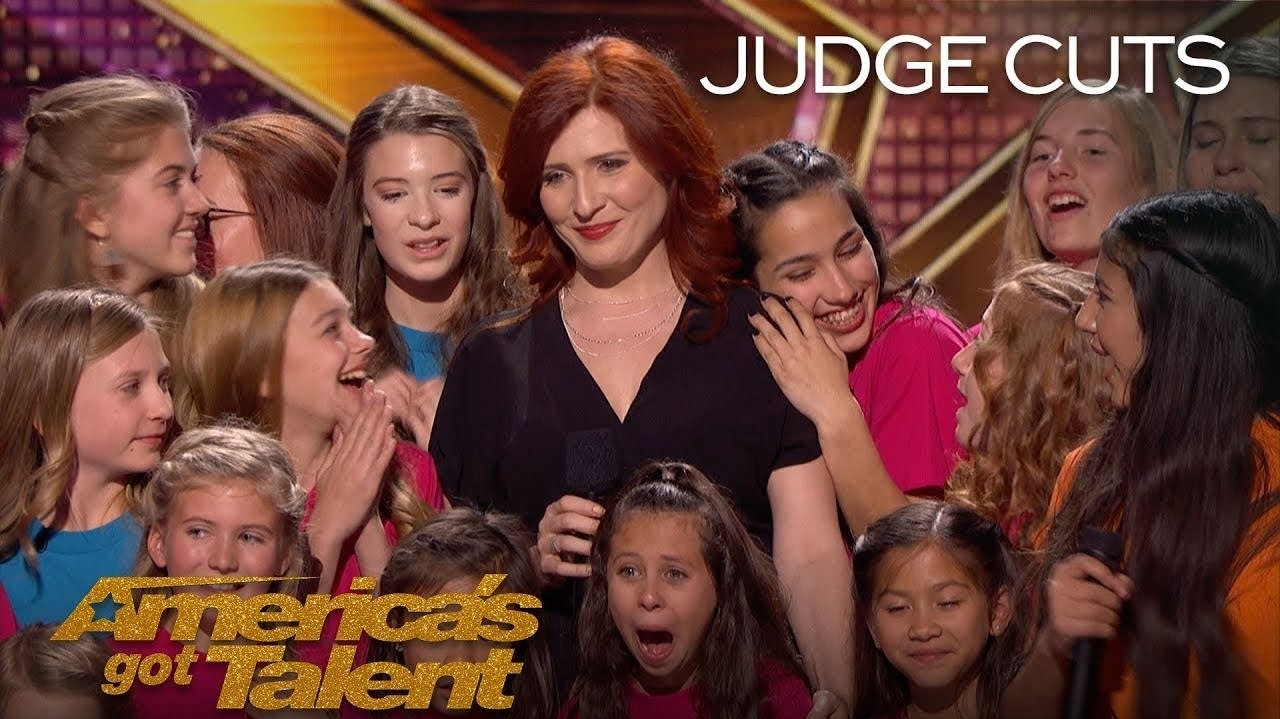Voices of Hope appears on the NBC show 'America's Got Talent.'