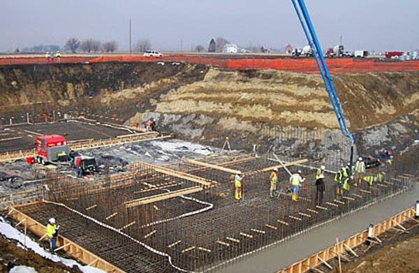 Water treatment plant construction