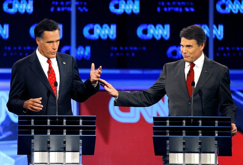 Mitt Romney, Rick Perry