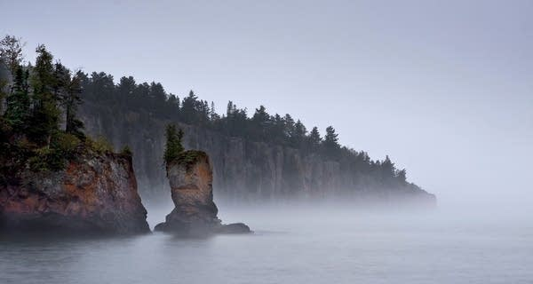 Tettegouche sea stack