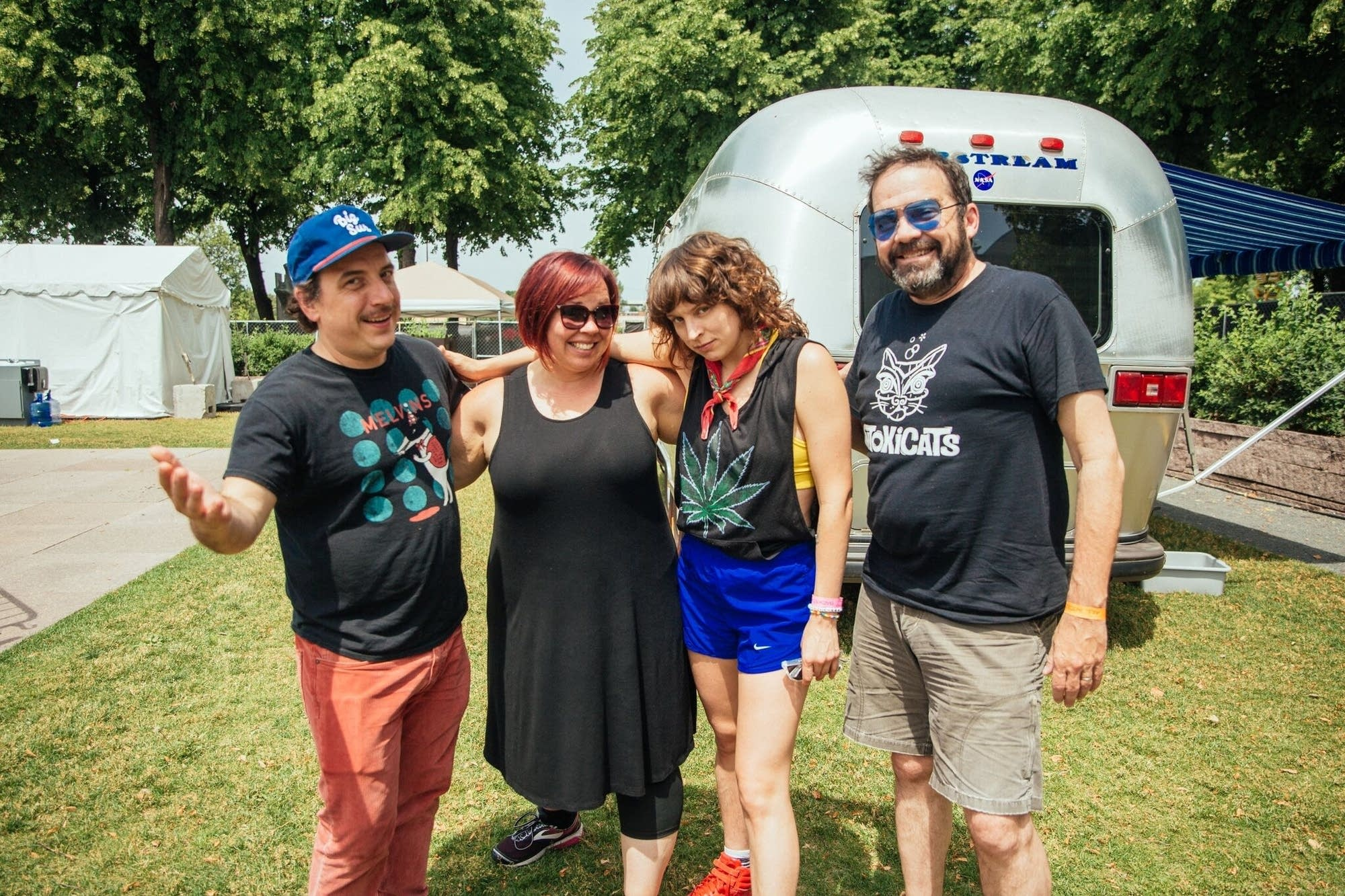 Heart Bones with Oake and Riley at Rock the Garden 2019