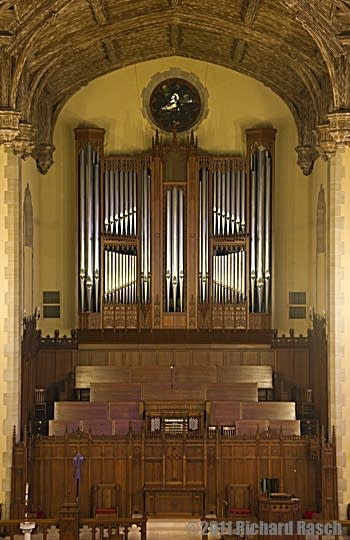 1981 Schantz organ and Choir of Saint Paul's United Methodist Church