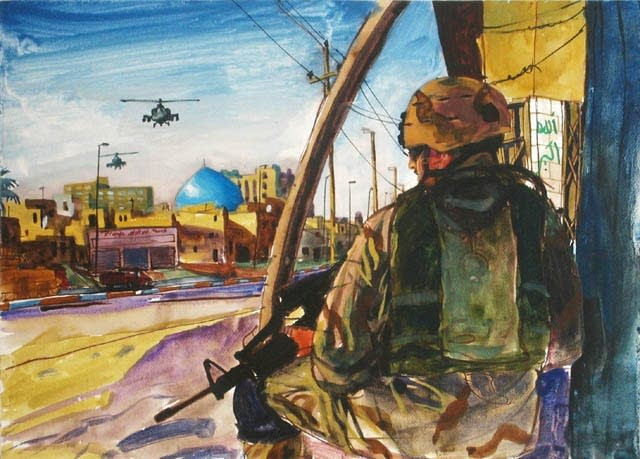 Art from the Iraq War