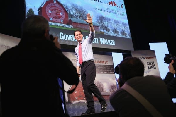 Gov. Scott Walker in Iowa