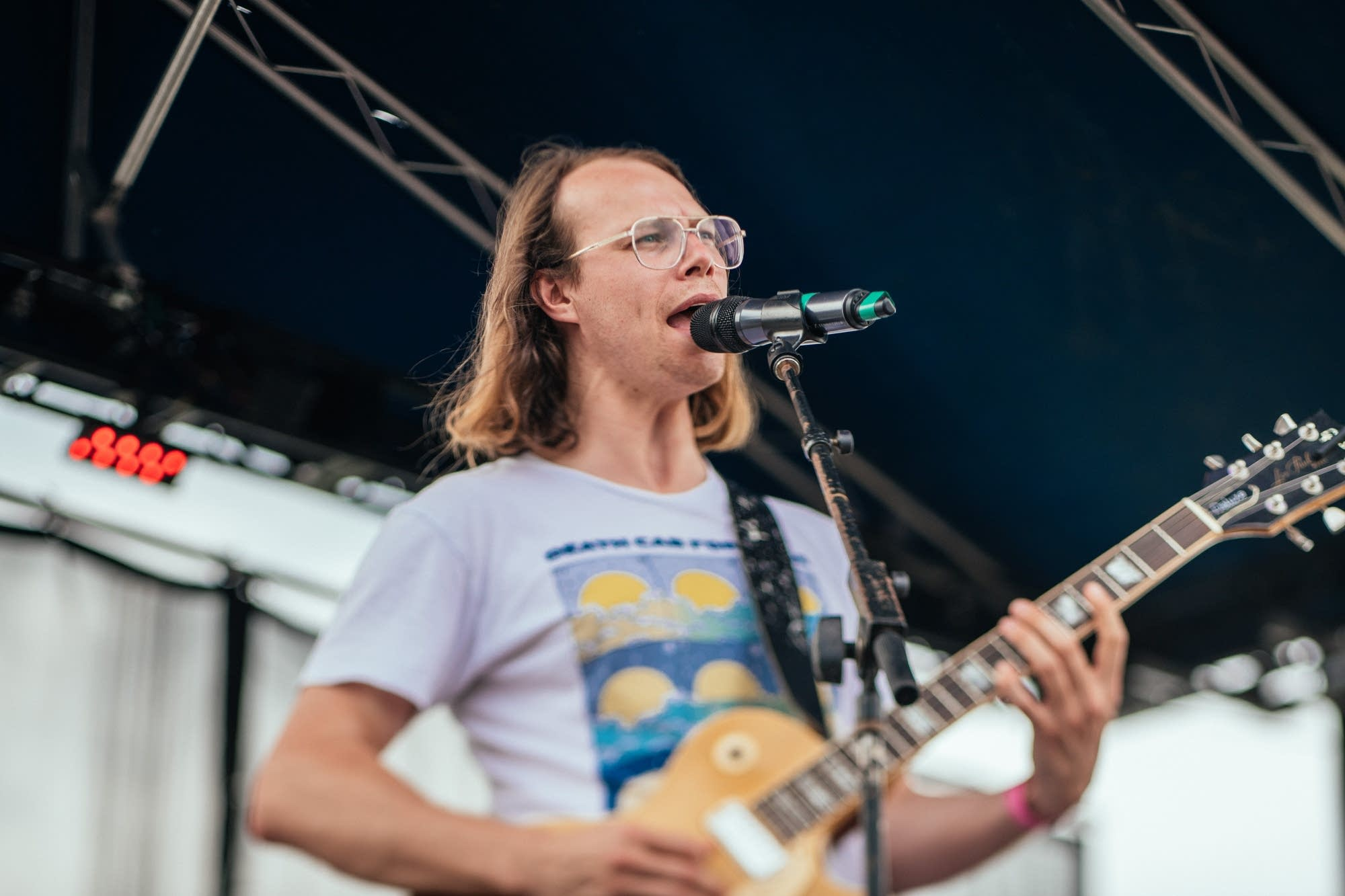 The Beths perform at Rock the Garden 2019