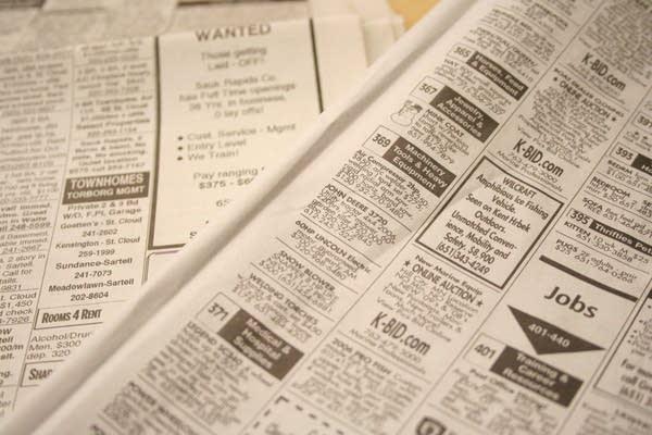 Job hunting gets harder | MPR News