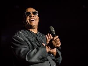 Stevie Wonder in concert at Target Center