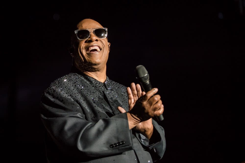 Stevie Wonder in concert at Target Center