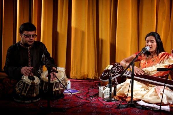Pooja Goswami Pavan and Allalaghatta Pavan