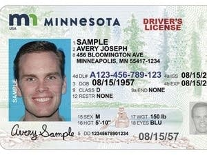 New design for Minnesota license