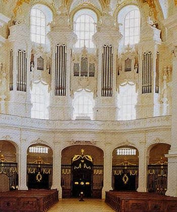 1798 Holzhay organ at Neresheim Abbey, Germany