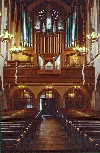 1972 Beckerath organ at First Congregational Church, Columbus, Ohio