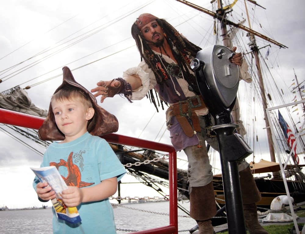 'Jack Sparrow' impersonator