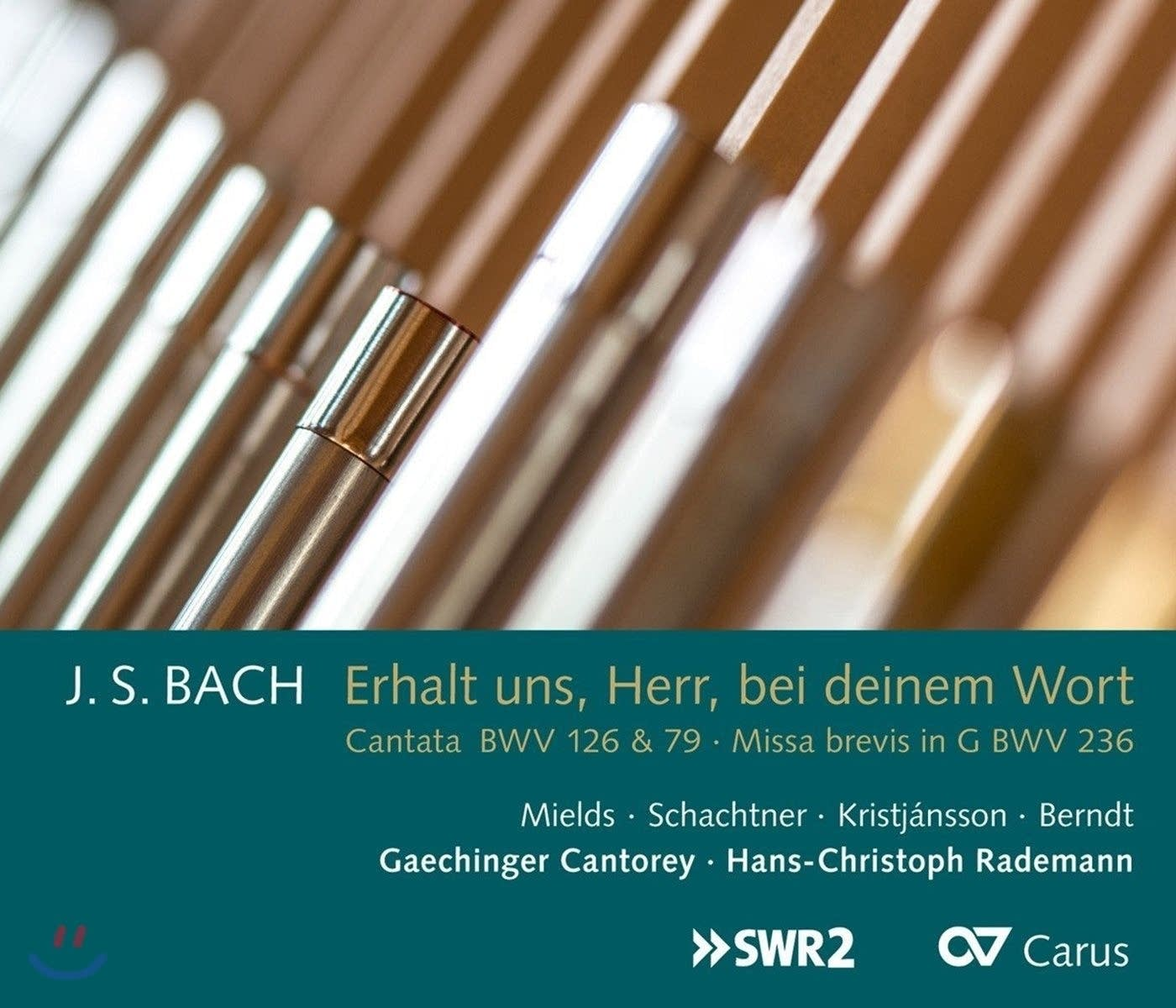 'Bach: Cantatas, BWV 126 & 79 and Mass in G Major, BWV 236'