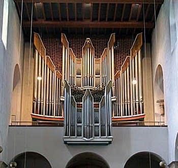 1960 Klais organ at Saint Mary's Cathedral, Hildesheim, Germany